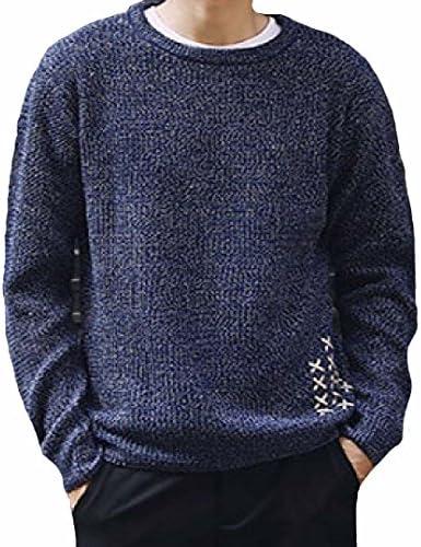 LEVIFE(レバイフ) ニット セーター 編み プルオーバー トップス カジュアル 大きいサイズ 長袖 メンズ