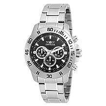 Invicta Men's 21481 Specialty Analog Display Swiss Quartz Silver-Tone Watch