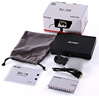 Viltrox DC-70 Clip-on Color 7 TFT LCD HD Monitor HDMI AV Input 1280 * 800 for Sony,Canon,Nikon DSLR Camera Camcorder