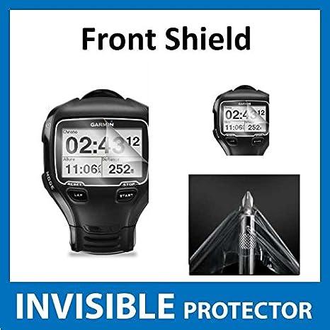 Garmin Forerunner 910XT GPS reloj frente Protector de pantalla (panel frontal incluido): Amazon.es: Electrónica