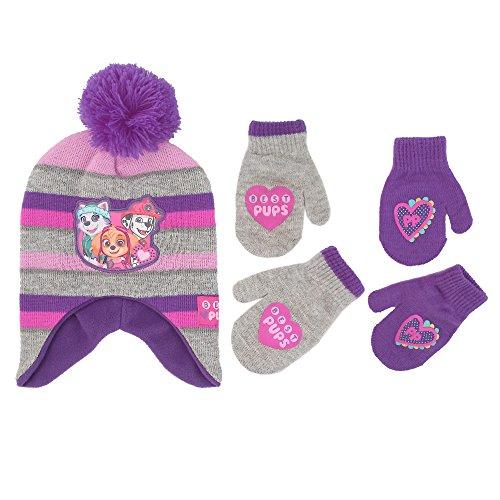 little girls paw patrol character hat