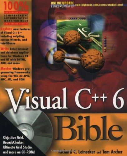 Visual C++ 6.0 Bible: Amazon.es: Rick Leinecker, Kevin Smith ...