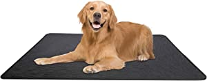 OERTUFU Puppy Training Pads for Dog,Reusable Pet Pee Absorbent with Adhesive,4 Layer Leakproof Toilet Pee Wee Mat for Home Protection Unscented Odor Eliminating, 60x45cm 70x50cm 100x70cm
