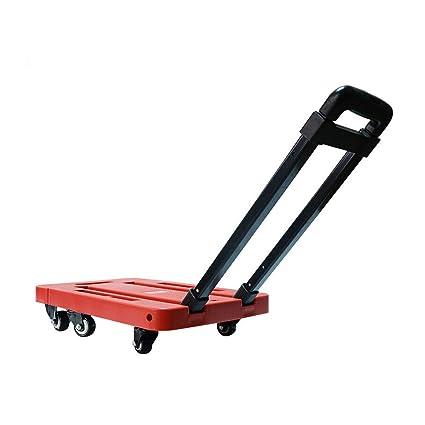 e1061f4c3f94 Amazon.com: Zhilong Platform Cart Dolly Folding Foldable Moving ...