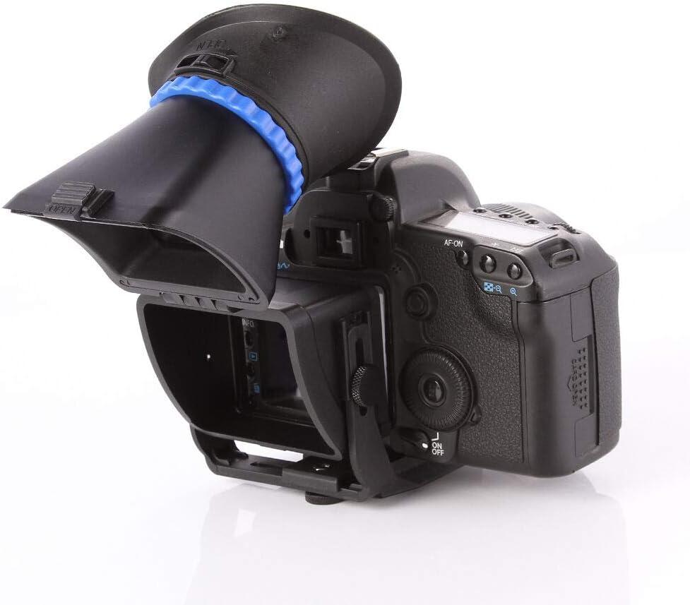 Runshuangyu - Visor Universal para cámaras réflex Digitales Canon ...