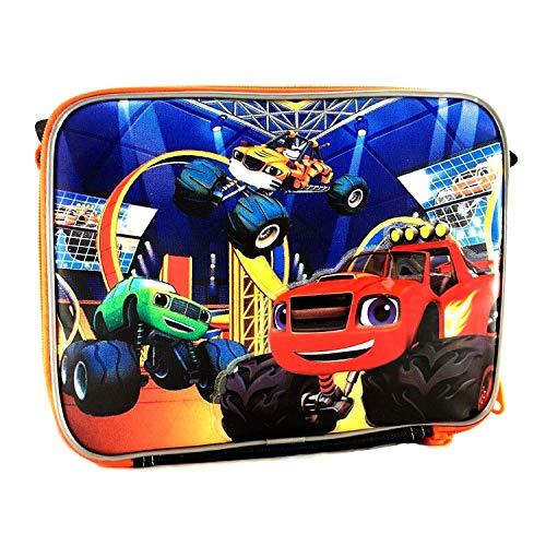 Nickelodeon Blaze and the Monster Machines Lunch Box Cartoon Picnic Food Box