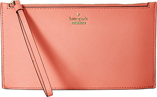 Kate Spade New York Women's Cameron Street Ariah Wristlet, Bright Flamingo, One - Kate Flamingo Spade