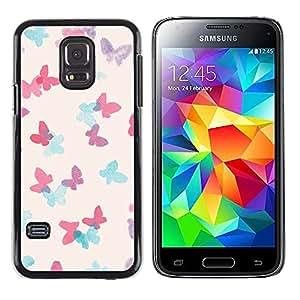 Caucho caso de Shell duro de la cubierta de accesorios de protección BY RAYDREAMMM - Samsung Galaxy S5 Mini, SM-G800, NOT S5 REGULAR! - Indian African White