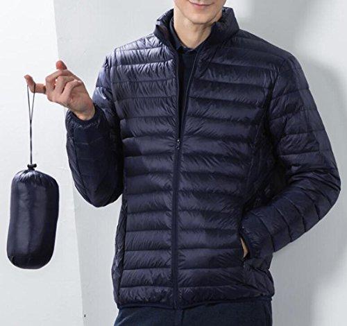 Premium EKU Down Puffer Weatherproof Coat US Navy Packable Men's XS Blue Jacket qgwrg5Cx