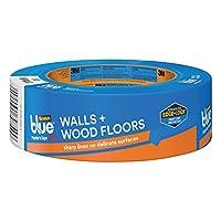 ScotchBlue WALLS + PISOS DE MADERA Cinta de pintor, 1.41 pulgadas x 60 yardas, 1 rollo