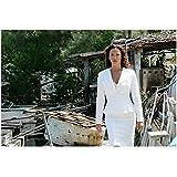 CSI: Miami Sofia Milos as Yelina Salas in white suit 8 x 10 Inch Photo
