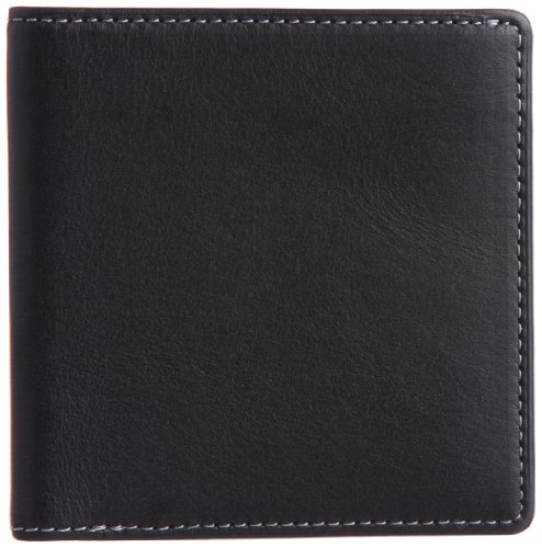 THINly Leather Bifold Wallet SLBS02 Black by THINly
