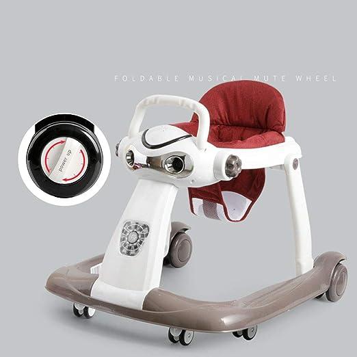 Andador para bebés, 6-18 Meses El antivuelco Plegable para ...