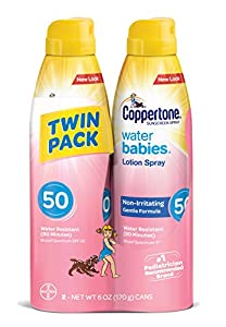 Coppertone WaterBABIES Sunscreen