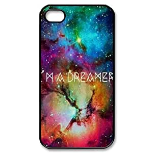 Galaxy Space Universe The Unique Printing Art Custom Phone Case for Iphone 4,4S,diy cover case ygtg553251 by lolosakes