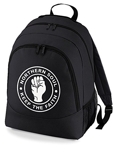 Faith Black silly Rucksack humour The Backpack Bag keep Northern Soul Unisex xn8tIv