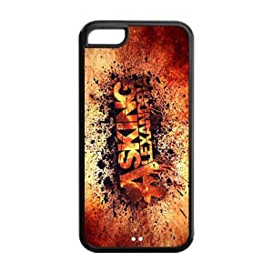iStyle Zone Snap-on TPU Rubber Coated Case Cover for iphone 6 4.7 [Asking Alexandria]