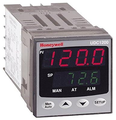 Honeywell DC120L-1-0-0-0-1-0-0-0 Temperature Limit Controller, Universal Input, 1/16-DIN, Relay Output