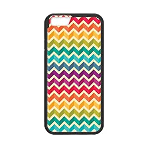 """Onshop Custom Colorful Chevron Phone Case Laser Technology for iPhone 6 4.7"""" by runtopwell"""