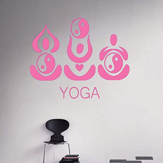 guijiumai Tatuajes de Pared Indio Yoga Pegatinas de Pared ...
