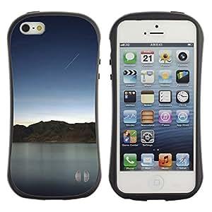 Pulsar iFace Series Tpu silicona Carcasa Funda Case para Apple iPhone 5 / iPhone 5S , Nature Beautiful Forrest Green 132
