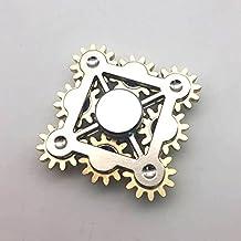 YELLU Wheel Gears Electric Saw Metal Fidget Hand Spinners Toys with ceramics Bearings
