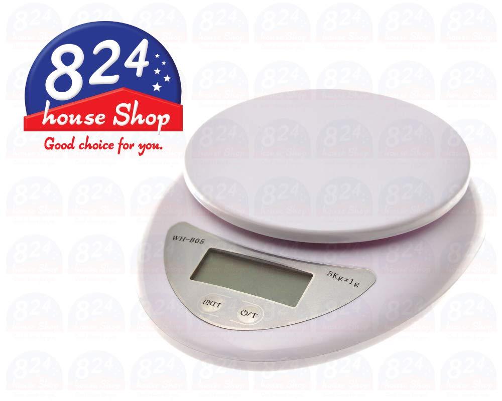 Digital Kitchen Scale 1-5000 g Diet Food Compact Kitchen Scale 5KG//1G