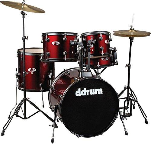 ddrum-d120b-br-d-series-5-piece-drum-set-complete-red