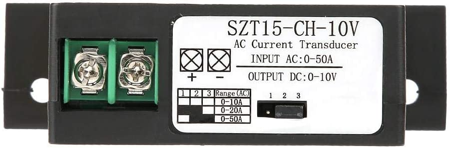 Trasduttore di corrente alternata corrente continua Induttore reciproco corrente continua AC0-50A a DC0-10 V SZT15-CH-10V