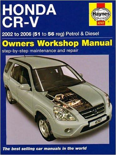 honda crv 2002 manual book