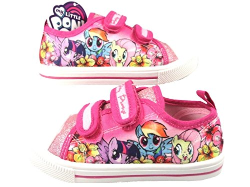 MLP My Little Pony Mokolla Pink Glitter Trainers Various Sizes
