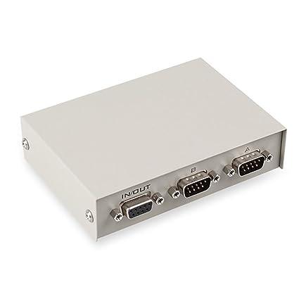 Amazon ES Tune 2 Way RS232 Serial Switch Box DB9 Pin