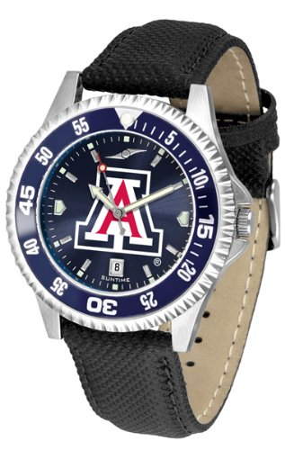 Wildcats Competitor Watch (Arizona Wildcats Competitor AnoChrome Men's Watch - Color Bezel)