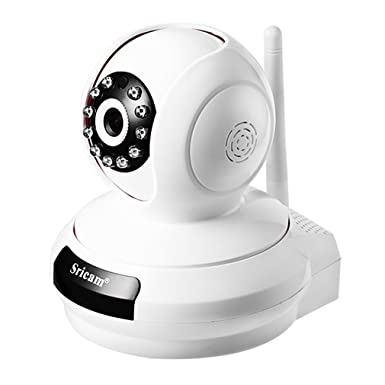 leshp inalámbrica Wifi de 720P HD Pan Tilt cámara IP, Pet perro Smart cámara para
