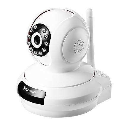 ICOCO 720P Cámara IP WIFI,Cámara de Vigilancia Interior HD 720P P2P Pan/Tilt