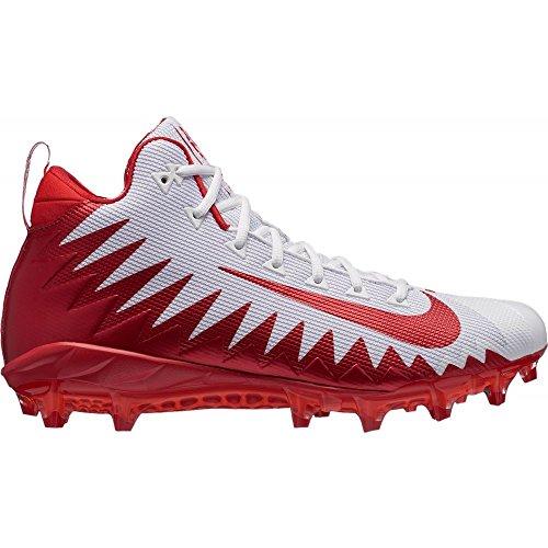 ルーム混乱させる肉腫(ナイキ) Nike メンズ アメリカンフットボール シューズ?靴 Alpha Menace Pro Mid Football Cleats [並行輸入品]