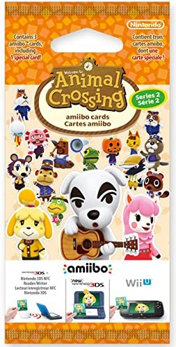 Nintendo - Pack 3 Tarjetas Amiibo Animal Crossing HHD - Serie 2 ...