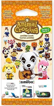 Nintendo - Pack 3 Tarjetas Amiibo Animal Crossing HHD - Serie 2: Amazon.es: Videojuegos