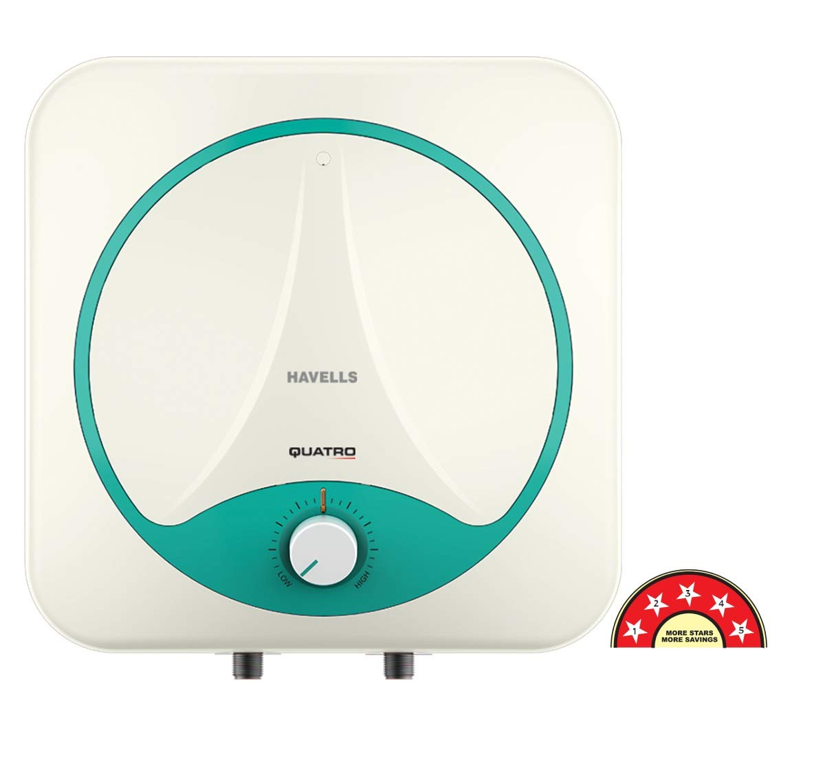 [Apply coupon] Havells Quatro 25-Litre Storage Water Heater (White and Green)