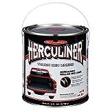 Herculiner Truck Bed Liner, Black, 1 Gallon