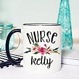 Best i-Custom World Holiday Evers - Nurse Mug, Personalized Mug, Gifts for Nurse, Nurse Review