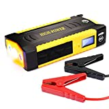 #7: BMBZON 600A Peak 18000mAH Portable Car Jump Starter with Smart Jumper Cables (Up to 6.0L or 5.0 Diesel Engines) Booster Battery Charger Phone Power Bank