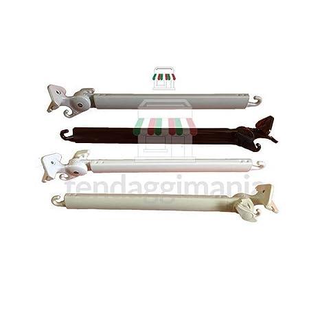 Coppia Braccetti Per Tenda Da Sole A Caduta In Alluminio Da 50 Cm