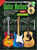 Guitar Method Book 1: Supplement Bk/Cd/Dvd