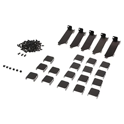 Vococal Universal Metal Mounting Support Holder Bracket Rack with Screws for PCI Side-Blown Graphics Card Cooling Fans