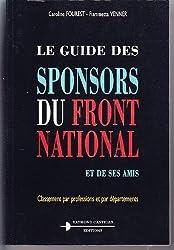 Le guide des sponsors du Front National et de ses amis