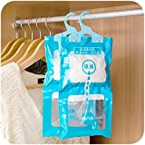 Innova® Hanging Wardrobe Dehumidifier 2 x Bags Stop Damp Mould Mildew Moisture Removers