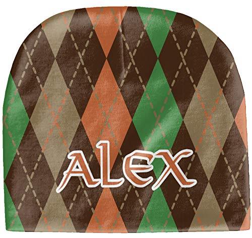 - YouCustomizeIt Brown Argyle Baby Hat (Beanie) (Personalized)