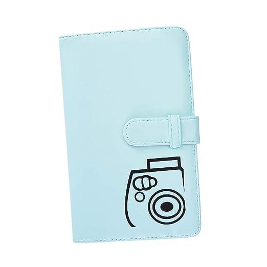 9 70 90 7s 25 26 50s película azul hielo Funda Para Fujifilm Instax Mini 8 8
