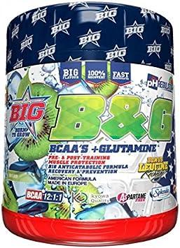 Big B&G Bcaas 12:1:1 con Glutamina Kiwi 400G 400 g: Amazon.es ...